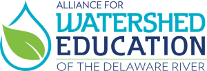 The The Alliance for Watershed Education of the Delaware River logo