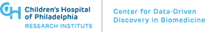 The The Center for Data Driven Discovery of Biomedicine logo