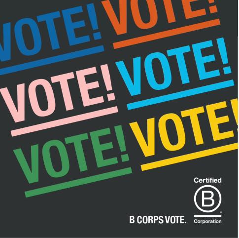 B Corps Vote